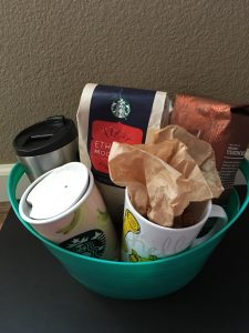 WWW Starbucks gift basket