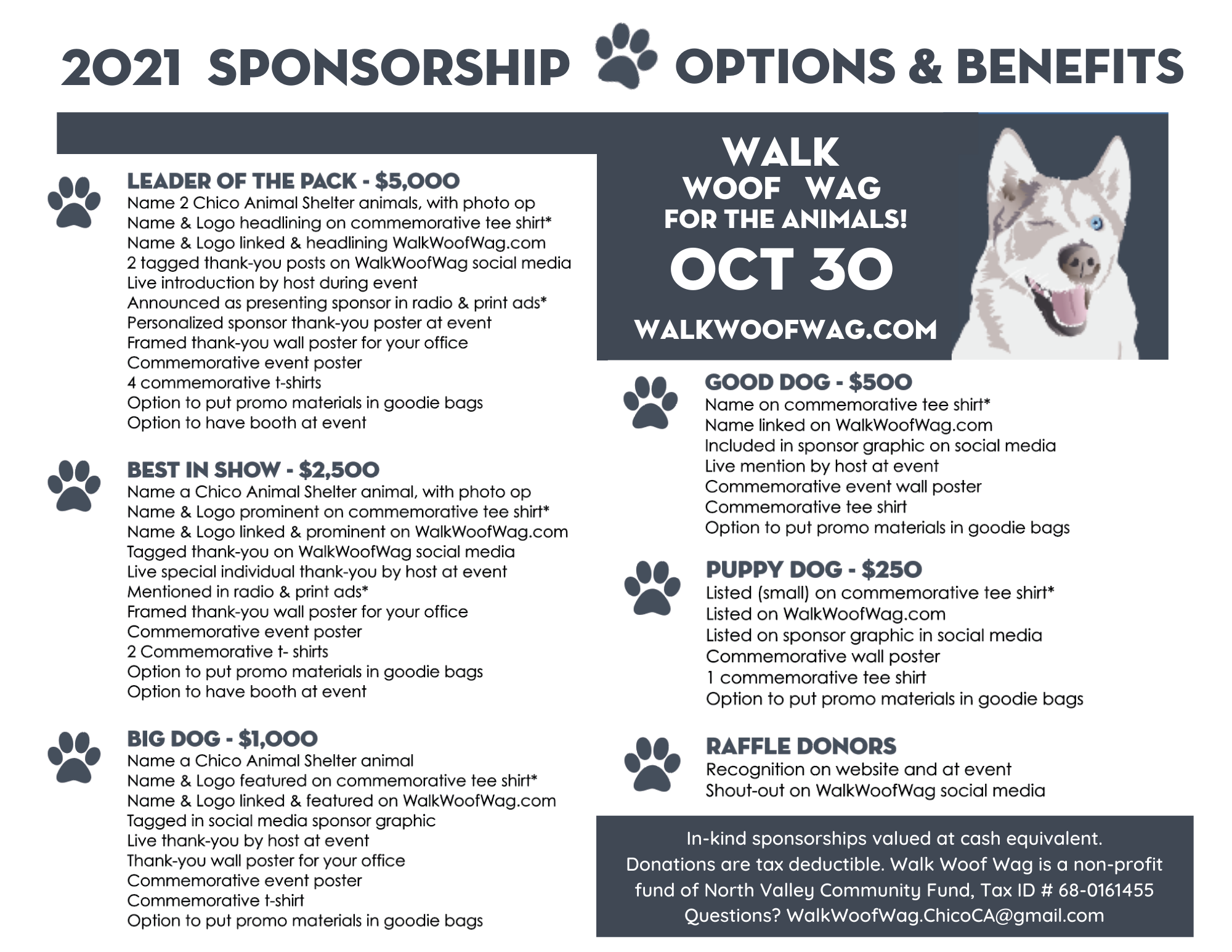 Sponsorship Options